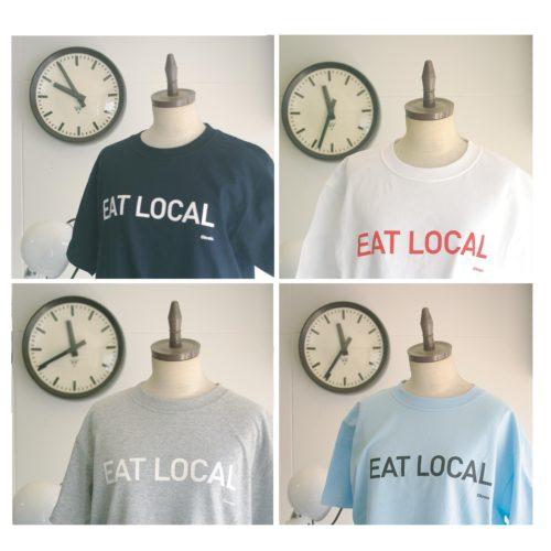 オリジナルTシャツ:EAT LOCAL-Msize